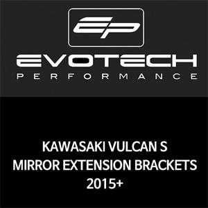 가와사키 발칸 S MIRROR EXTENSION BRACKETS 2015+ 에보텍