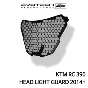 KTM RC390 HEAD LIGHT GUARD 2014+ 에보텍