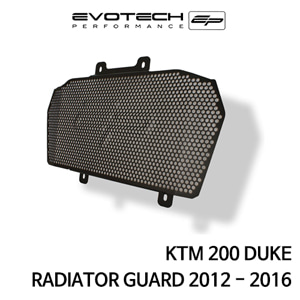 KTM 200듀크 라지에다가드 2012-2016 에보텍