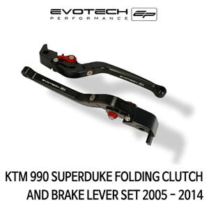 KTM 990SUPER듀크 접이식클러치브레이크레버세트 2005-2014 에보텍