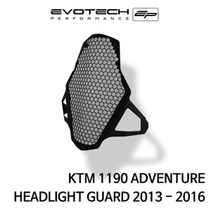 KTM 1190ADVENTURE HEADLIGHT GUARD 2013-2016 에보텍