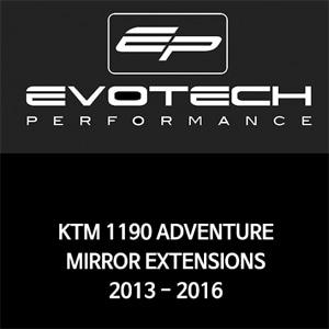 KTM 1190ADVENTURE MIRROR EXTENSIONS 2013-2016 에보텍