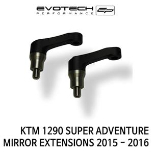 KTM 1290 SUPER ADVENTURE MIRROR EXTENSIONS 2015-2016 에보텍