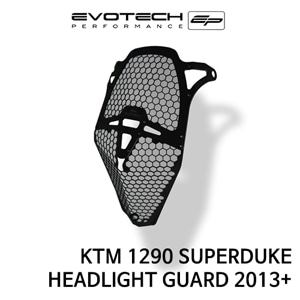 KTM 1290 SUPER듀크 HEADLIGHT GUARD 2013+ 에보텍
