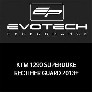 KTM 1290 SUPER듀크 RECTIFIER GUARD 2013+ 에보텍