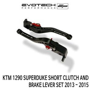KTM 1290 SUPER듀크 숏클러치브레이크레버세트 2013-2015 에보텍