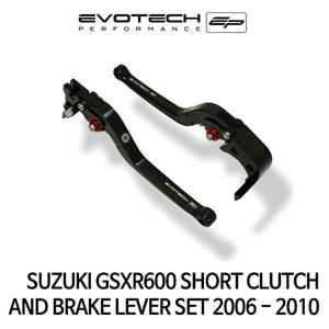스즈키 GSX-R600 숏클러치브레이크레버세트 2006-2010 에보텍