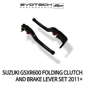 스즈키 GSX-R600 접이식클러치브레이크레버세트 2011+ 에보텍