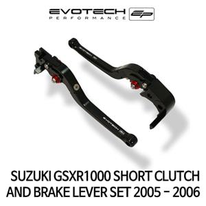 스즈키 GSX-R1000 숏클러치브레이크레버세트 2005-2006 에보텍