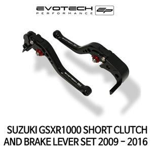 스즈키 GSX-R1000 숏클러치브레이크레버세트 2009-2016 에보텍