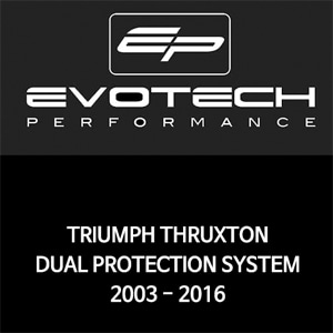 트라이엄프 THRUXTON DUAL PROTECTION SYSTEM 2003-2016 에보텍