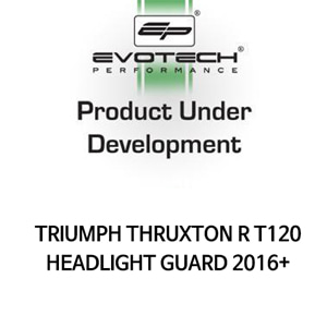 트라이엄프 THRUXTON R T120 HEADLIGHT GUARD 2016+ 에보텍