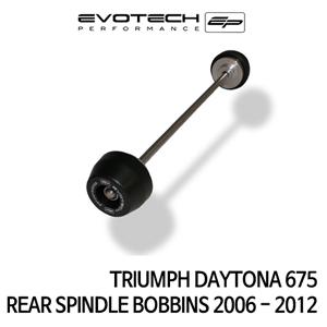 트라이엄프 DAYTONA675 리어휠스윙암슬라이더 2006-2012 에보텍