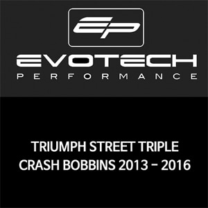 트라이엄프 STREET TRIPLE CRASH BOBBINS 2013-2016 에보텍