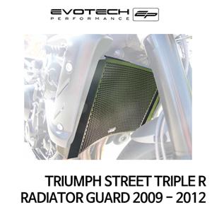 트라이엄프 STREET TRIPLE R 라지에다가드 2009-2012 에보텍