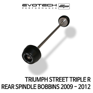트라이엄프 STREET TRIPLE R 리어휠스윙암슬라이더 2009-2012 에보텍