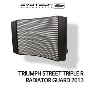 트라이엄프 STREET TRIPLE R 라지에다가드 2013 에보텍