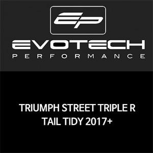 트라이엄프 STREET TRIPLE R 번호판휀다리스키트 2017+ 에보텍