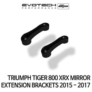 트라이엄프 TIGER800XRX MIRROR EXTENSION BRACKETS 2015+ 에보텍