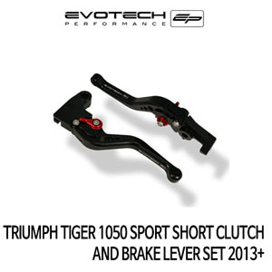 트라이엄프 TIGER1050 SPORT 숏클러치브레이크레버세트 2013+ 에보텍