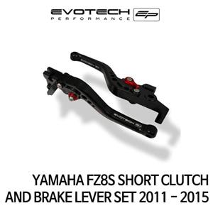 야마하 FZ8S 숏클러치브레이크레버세트 2011-2015 에보텍