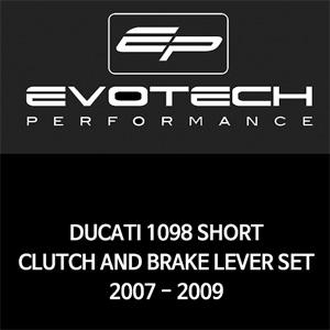 두카티 1098 숏클러치브레이크레버세트 2007-2009 에보텍