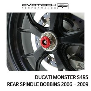 두카티 몬스터 S4RS 리어휠스윙암슬라이더 2006-2009 에보텍