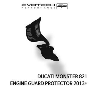 두카티 몬스터821 엔진가드프로텍터 2013+ 에보텍