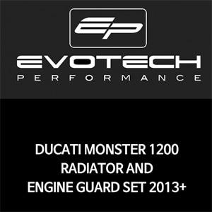두카티 몬스터1200 라지에다엔진가드세트 2013+ 에보텍