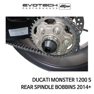 두카티 몬스터1200S 리어휠스윙암슬라이더 2014+ 에보텍