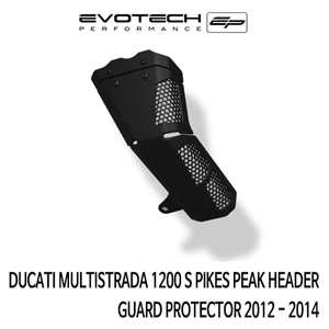 두카티 멀티스트라다1200S PIKES PEAK HEADER GUARD PROTECTOR 2012-2014 에보텍