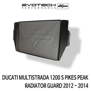 두카티 멀티스트라다1200S PIKES PEAK 라지에다가드 2012-2014 에보텍