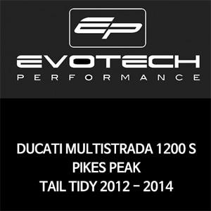 두카티 멀티스트라다1200S PIKES PEAK 번호판휀다리스키트 2012-2014 에보텍