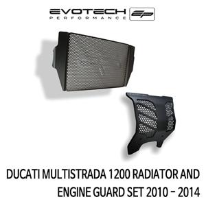 두카티 멀티스트라다1200 라지에다엔진가드세트 2010-2014 에보텍
