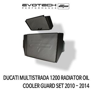 두카티 멀티스트라다1200 RADIATOR 오일쿨러가드 SET 2010-2014 에보텍