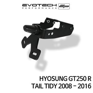 S&T GT250R 번호판휀다리스키트 2008-2016 에보텍