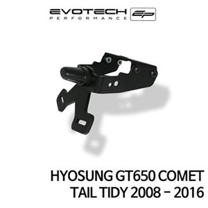 S&T GT650 COMET 번호판휀다리스키트 2008-2016 에보텍