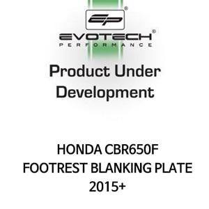 혼다 CBR650F FOOTREST BLANKING PLATE 2015+ 에보텍
