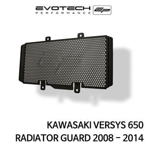 가와사키 VERSYS650 라지에다가드 2008-2014 에보텍