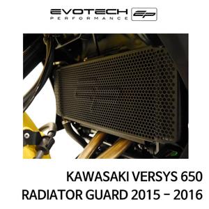 가와사키 VERSYS650 라지에다가드 2015-2016 에보텍
