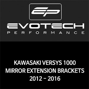 가와사키 VERSYS1000 MIRROR EXTENSION BRACKETS 2012-2016 에보텍
