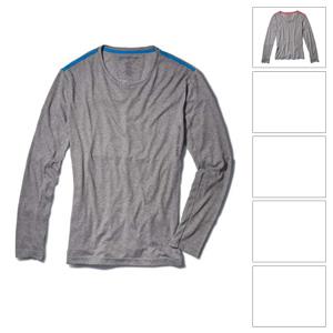 [BMW 기능성 셔츠]Ride long-sleeve T-shirt (Light grey)-여성용 (레귤러핏)