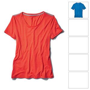 [BMW 기능성 셔츠]Ride T-shirt (Light grey)-여성용 (레귤러핏)