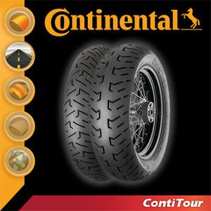 [콘티넨탈 오토바이 타이어]콘티투어/ContiTour 150/80 B 16 M/C 77 H Reinf. TL 02 40 294