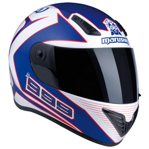 Marushin 999 RS Fundo WHite/Blue
