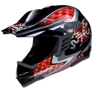Marushin XMR Carver Keikan Black/Red
