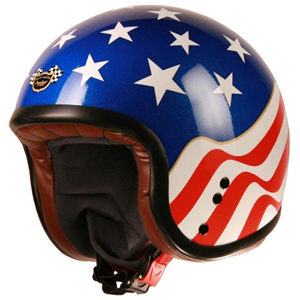 Project Cafe Racer Jet Helmet USA