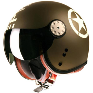 Project Cafe Racer Top Gun Star Green/White