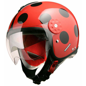 Project Gordon Double Visor Red/Black