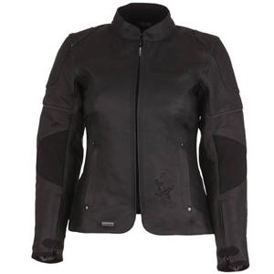 [Modeka 가죽자켓]Modeka Leather Jacket Black Star Lady